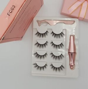 Other - Reusable Magnetic Eyelashes #FC03 (4 Pairs)